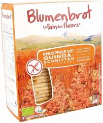 Blumenbrot - Le Pain des Fleurs Knusprige Bio und glutenfrei Schnitten Quinoa 150g