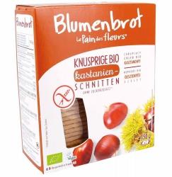 Blumenbrot - Le Pain des Fleurs Knusprige Bio und glutenfrei Schnitten Kastanien 150g