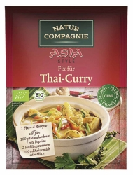 Natur Compagnie ASIA Fix für Thai Curry 35g