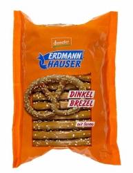 Erdmannhauser Getreideprodukte Demeter Dinkel Brezeln mit Sesam 125g