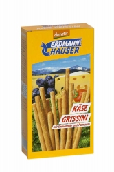 Erdmannhauser Getreideprodukte  Demeter Käse-Grissini 100g