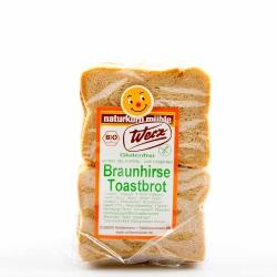 Naturkorn Mühle Werz Braunhirse Toastbrot glutenfrei 250g