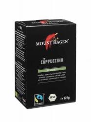 Mount Hagen Bio Fair Trade Capuccino Faltschachtel 10X12,5g