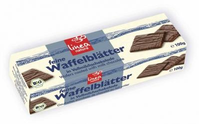 Linea Natura Linea natura Vollmilch Waffelblätter 100g