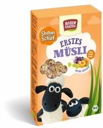 Rosengarten Shaun das Schaf Erstes Müsli Milde Früchte 375g