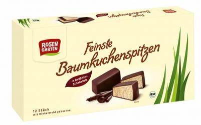 Rosengarten Baumkuchen Spitzen Zartbitter 100g