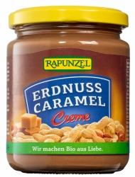 Rapunzel Erdnuss Caramel Creme 250g