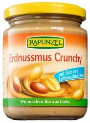 Rapunzel Erdnussmus Crunchy mit Salz 250g