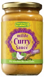 Rapunzel Curry Sauce mild 350ml
