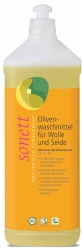Sonett Olivenwaschmittel für Wolle und Seide 20° 30° 40°C 1l
