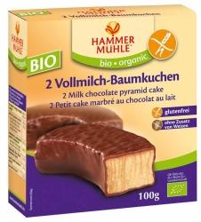 Hammermühle organic Bio Vollmilch-Baumkuchenringe glutenfrei 2Stück 100g