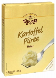 Bauckhof Kartoffel Püree Natur glutenfrei Bio 150g
