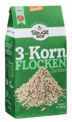 Bauckhof 3-Korn Flocken Zartblatt Demeter 425g