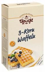 Bauckhof 3-Korn Waffeln glutenfrei Bio 200g