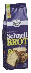 Bauckhof Schnellbrot mit Saaten glutenfrei Bio 500g