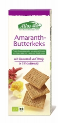 Allos Amaranth Butterkeks 150g