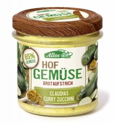 Allos Hofgemüse Claudias Curry Zucchini 135g