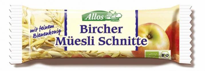 Allos Bircher Müesli Schnitte 30g