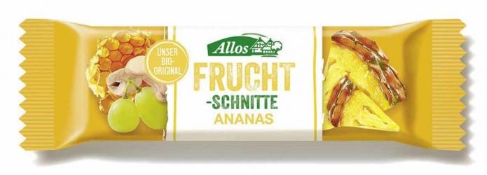 Allos Fruchtschnitte Ananas 30g