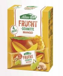 Allos Fruchtschnitte Mango 4er Pack 4x30g