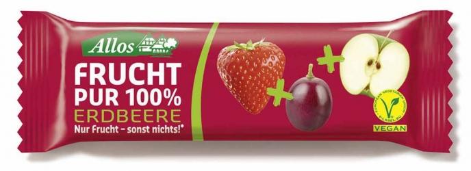 Allos Frucht Pur 100% Erdbeere 30g