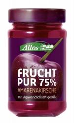 Allos Frucht Pur 75% Amarenakirsche 250g