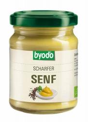 Byodo Scharfer Senf 125ml