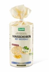 Byodo Maisscheiben mit Meersalz 120g