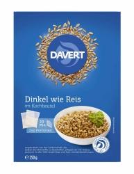 Davert Zart-Dinkel im Kochbeutel 250g
