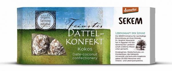 Sekem Dattelkonfekt Kokos 120g
