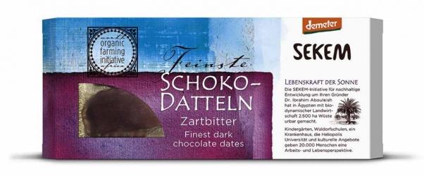 Sekem Schoko-Datteln Zartbitter 100g