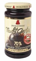 Zwergenwiese FruchtGarten Schwarze Johannisbeere 225g