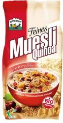Barnhouse Feines Muesli Quinoa Cranberry Blue 450g