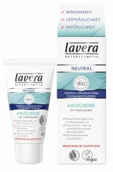 Lavera Neutral Akutcreme mit Mikrosilber 50ml