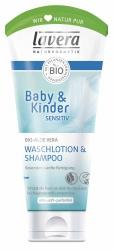 Lavera Waschlotion & Shampoo Bio-Aloe Vera 200ml