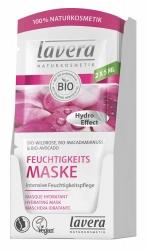 Lavera Feuchtigkeitsmaske Bio-Wildrose, Bio-Macadamianuss & Bio-Avocado 2x5ml