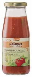 Naturata Tomatenpolpa mit Basilikum und Oregano 410g
