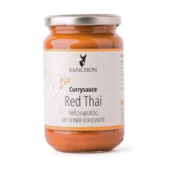 Sanchon Currysauce Red Thai 340g