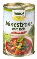 Ökoland Minestrone mit Reis 400g
