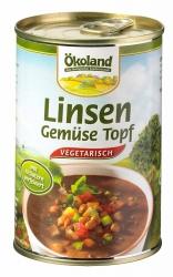 Ökoland Linsen-Gemüse Topf 400g