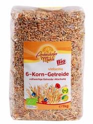Antersdorfer Mühle Bio 6-Korn-Getreide 1kg