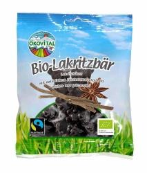Ökovital Bio Lakritzbären gegossenes Starklakritz mit Gelatine 80g