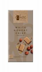 iChoc White Nougat Crisp - Rice Choc 80g