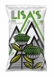 Lisa´s  Kartoffelchips Chili & Lime 110g