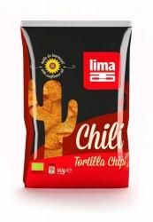 Lima Lima Tortilla Chips Chili 90g