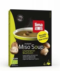 Lima Instant Miso Soup Champignon 4x9g
