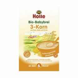 Holle baby food Bio-Babybrei 3-Korn ab dem 6. Monat 250g
