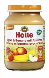 Holle baby food Apfel & Banane mit Aprikose ab dem 6. Monat 190g