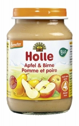 Holle baby food Apfel & Birne nach dem 4. Monat 190g