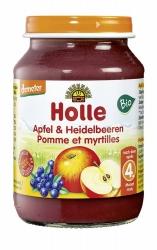Holle baby food Apfel & Heidelbeeren nach dem 4. Monat 190g